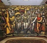 david alfaro siqueiros mexican mural painter fresco murals