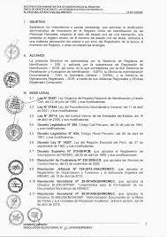 RECTIFICACIÓN ADMINISTRATIVA DE INSCRIPCIÓN EN EL REGISTRO ÚNICO DE