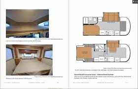 Kitchen Island Travel Trailer Camper Safari Trek Bed Rv Interior Layout With Modern Efficient Floor Plans Jpg