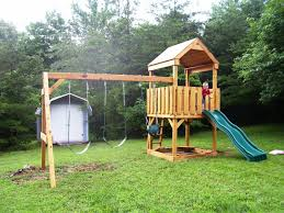 Impressive Ideas Playsets For Backyard Alluring Backyard Discovery ... Backyard Adventures Wooden Playsets Gym Sets American Sale Swing Give The Kids A Playset This Holiday Sears Swingsets And Nashville Tn Grand Sierra Natural Green Grass With Pea Gravel Garden For 131 Best Images On Pinterest Swings Interesting Design And Plus Gorilla Wilderness Do It Yourself Thunder Ridge Set Shop Discovery Shenandoah Residential Wood With Review Adventure Play Atlantis Dallas Catalina Playground Outdoor