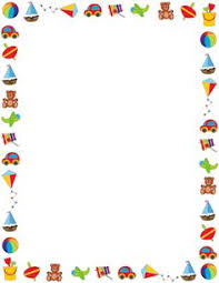 Free Toy Border Templates Including Printable Paper And Clip Art Versions File Formats Include GIF JPG PDF PNG