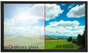 6mm 8mm Anti Reflective Glass Non For Museum Display Exhibition