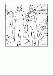 Extraordinary Star Trek Coloring Pages Printable With And Christmas