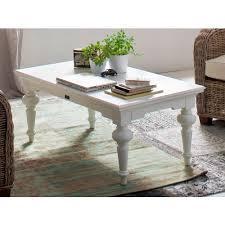 landhausstil couchtisch weiß antik provence 120x80 cm