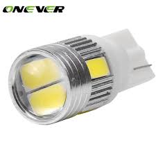 10pcs t10 w5w 168 194 smd led car wedge side light bulb l for
