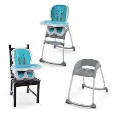 Ingenuity: Trio Smart Clean - 3-in-1 High Chair (Aqua) Go With Me Uplift Portable High Chair Childhome Evolu One 80 Highchair Naturalwhite Quax Allinone Ultimo 3 White Petit Bazaar 2 In 1 Evolu One80 Anthracite 1st Birthday Boy I Am Banner Am Graco Blossom 4in1 Rndabout Unboxing And Setup Decoration Ideas First Party Decor High Herringbone Compact Wild One Ingenuity Trio Smart Clean 3in1 Aqua
