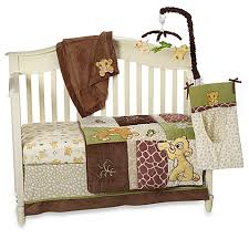 disney baby lion king go wild crib bedding collection buybuy baby