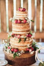 Rustic Wedding Cakes Without Fondant