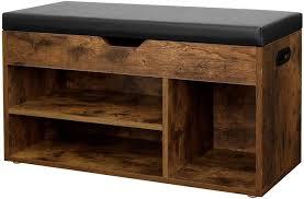 vasagle schuhbank lhs30bx sitzbank gepolstert flur wohnzimmer schlafzimmer vintage kaufen otto