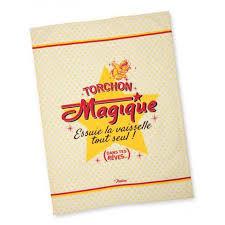 torchon cuisine original torchon en 100 coton magique 50x70 cm cuisine vaisselle rétro