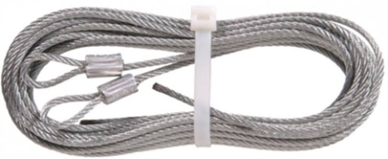 "The Hillman Group 852127 Extension Spring Lift Cable - 1/8"" x 12'"