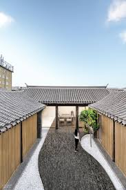 100 Modern Homes With Courtyards Archstudio Converts A Beijing Courtyard House Into Bold
