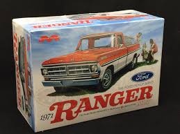 100 71 Ford Truck 125 Moebius Models 19 Ranger Pickup Model Kit 1208