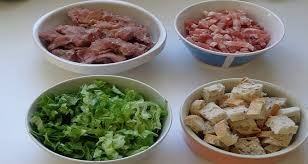 cuisiner les gesiers salade paysanne gésiers de volaille recette feuille de chêne