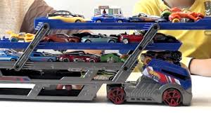 100 Hot Wheels Car Carrier Truck Transporter And 40 S Video For Kids About The Toy