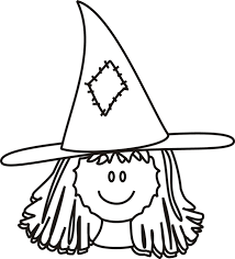Witch Coloring Pages Face Kids