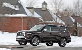 2019 Infiniti QX80 Reviews | Infiniti QX80 Price, Photos, And Specs ... Infiniti Qx Photos Informations Articles Bestcarmagcom New Finiti Qx60 For Sale In Denver Colorado Mike Ward Q50 Sedan For Sale 2018 Qx80 Reviews And Rating Motortrend Of South Atlanta Union City Ga A Fayetteville 2014 Qx50 Suv For Sale 567901 Fx35 Nationwide Autotrader Memphis Serving Southaven Jackson Tn Drivers Car Dealer Augusta Used 2019 Truck Beautiful Qx50 Vehicles Qx30 Crossover Trim Levels Price More
