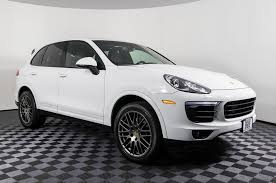 Used 2017 Porsche Cayenne Platinum AWD SUV For Sale - 50199 Porsche Trucks 2017 Macan Suvs Held At Port Released For Sale 6wheeled 928 Sports Pickup Truck Is Unique Aoevolution Panamera Turbo Render Not The First 1970 914 Cars Accsories Mansory Cayenne 10 Most Expensive Vehicles To Mtain And Repair 1976 Other Models Sale Near Anthem Arizona 2015 Gts Test Drive Review