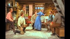 Jane Powell & The Brothers - Goin' Courtin' (7 Brides For 7 ... Seven Brides For Brothers Scene Where The Girls Are Dancing Mr Ds Theatre Blog Relive The Olden Days With This Iconic 7 Brides For Brothers Review Seven At Muny About Yloc York Light Opera Company Ltd Megan Mike Pats Barn Wedding Photographer Lucy Schultz Operetta Opens Sequim Irrigation 210 Movie Clip Bless Your Warner Bros Uk Movies Watch On Netflix Today 1954 Lobby Card 810 Sobbin Women