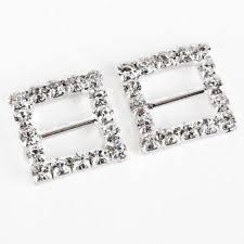Diamante Chair Sash Buckles by Diamante Buckles Embellishments Ebay