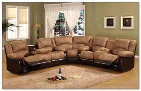 leather sectional sofa for elegant and luxury living room home