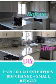100 How To Change Countertops DIY Painted Big On A Small Budget P Design