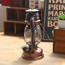 Antique Kerosene Lanterns Value by Bronze Retro Oil Lantern Outdoor Camping Kerosene Light Paraffin