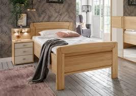seniorenbett einzelbett doppelbett eiche teilmassiv wiemann kiruna