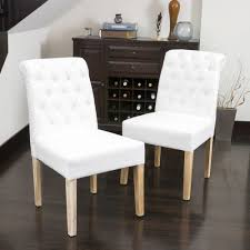 Set Of 2 Elegant Roll Back Tufted White Linen Upholstered Skyline Fniture Tufted Ding Chair In Velvet White Room Chairs Sale Balthazar Leather Linen Set Of 2 Back Nailhead Trim Inspired Home Ashton Non Twill Metal Gray At Pottery Barn Diamond Sofa Nolan Leatherette On Charcoal Powder Coat Frame Gramercy Dark Grey Safavieh Mcr4701cset2 Milo 4 By Tallback Natural Fabric Christopher Details About 4x Beige High Upholstered Button Rockefellar Pu Or Square Arms Chrome Gold Jessica Charles Sebastian 1901t