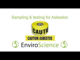 how to safely diy a sle for asbestos testing asbestos test