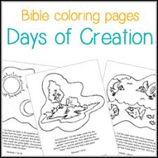 Vibrant Childrens Bible Coloring Pages