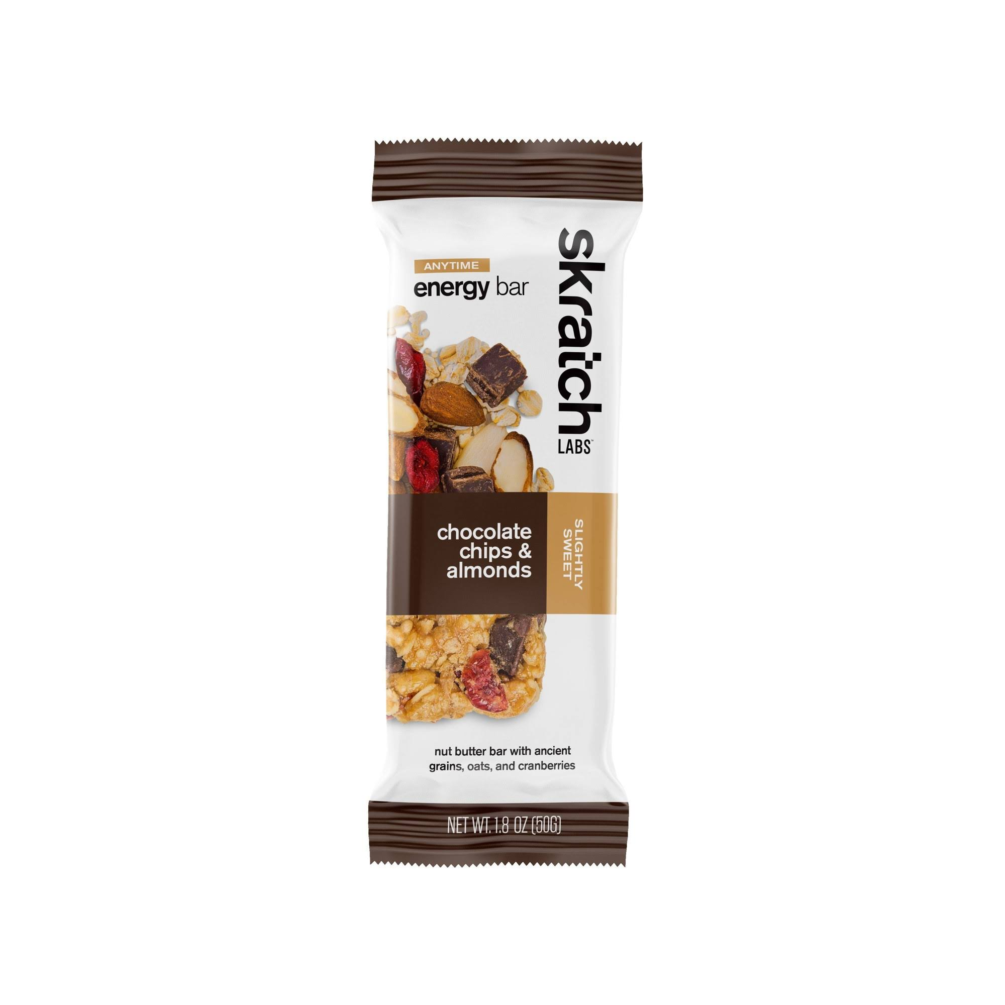 Skratch Labs Anytime Energy Bar Almond Chocolate