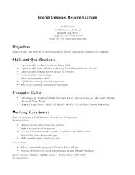 Graphic Design Resume Samples Sample Interior Junior Designer Student Examples Internship Resumes