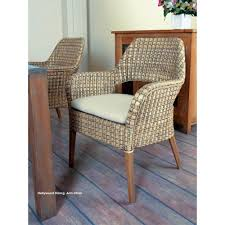Dining Room: Wicker Dining Chairs With Woven Rattan Wicker ... Bainbridge Ding Arm Chair Montecito 25011 Gray All Weather Wicker Solano Outdoor Patio Armchair Endeavor Rattan Mexico 7 Piece Setting With Chairs Source Chloe Espresso White Sc2207163ewesp Streeter Synthetic Obi With Teak Legs Outsunny Coffee Brown 2pack Modway Eei3561grywhi Aura Set Of 2 Two Hampton Pebble
