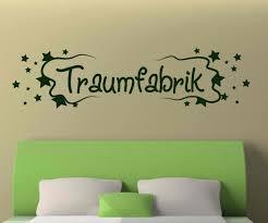 wandtattoo traumfabrik spruch aufkleber schlafzimmer kinderzimmer 1d176 wandtattoos und leinwandbilder günstig mydruck store