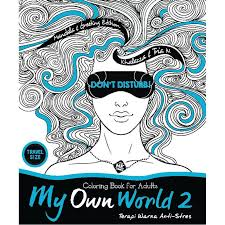 Book My Own World 2 Coloring For Adults