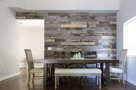 Give Those White Walls A Little Definition That Help To Bring Your Eye One Specific Area Of The Room Reclaimed Weathered Wood Accent Wall Gives Off