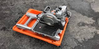 Ridgid 7in Tile Saw With Laser by Ridgid R4040s Tile Saw Review U2013 Cut It Out And Plunge In Home