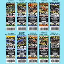 Monster Truck Party Invitations. 20 Ticket Style Invites To Choose ... Poland Monster Trucks Sonia En Route Jam Is Returning To Australia In 2015 Anthony Bousfield Alaide 2014 Dragon 03 By Lizardman22 On Deviantart Mom Among Chaos Discount And Giveaway X Tour Invades Fort Wayne Win Tickets Advance Auto Parts Twitter Contest Returns Verizon Center Win Fairfax Smarty Four The Truck Show At Twc Maple Leaf Bc Place February 1 Royal Farms Arena Capitol Momma For The First Time At Marlins Park Miami Code
