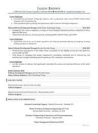 Resume Example Electrical Engineer