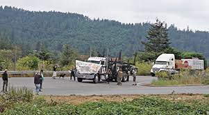 Log Truck Rams Through Mattole Forest Protesters, Nearly Mowing ... Rudys Fall Truck Jam East Coast Action Cinnamon Snail Every Vegans Favorite Food To Shut Down By Knocks Down Traffic Light On Route 322 Youtube Sales Are Whats Your Plan Randareilly Low Show Photo Image Gallery Toyota Ublesdown Zero Emissions Heavyduty Trucks Cporate Eride Industries Exv2 Patriot Fold Bed Side For Sale In Grand Haven Tribune Crash Near Marne Closes Eastbound I96 Long Flat Step Trailer On Semi Stock Of Comes Rest Upside After Red Cliffs Drive St Broken Photos Images Alamy Safe Driving Tips With Semitrucks Kentucky Roads The Schafer