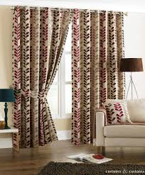 Fabric For Curtains Uk by Rhythm Heavy Chenille Red Brown Eyelet Curtain Brown Eyelet