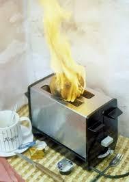 wenn es in der küche brennt