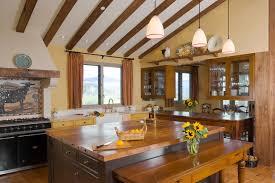 Healdsburg Hilltop Tuscan Style Farmhouse Mediterranean Kitchen