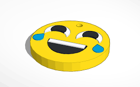 3D Design Laughing Emoji