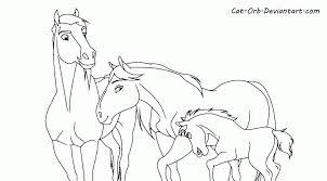Gorgeous Spirit Rain Stallion Cimarron Coloring Pages And