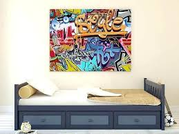 Teen Boy Wall Art Canvas Painting Ideas Teenage Room Minecraft Home Ps4