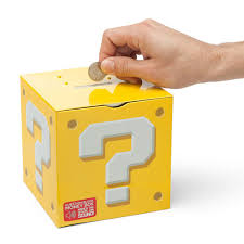 Mario Question Mark Block Lamp by Mario Question Block Piggy Bank Isn U0027t Just For Gold Coins Technabob