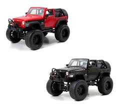 Diecast Auto World - Jada Just Trucks 1/24 Scale Set Of 2 2007 Jeep ...