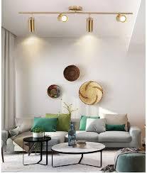 color brass 4 heads küche wohnzimmer bekleidungsgeschäft